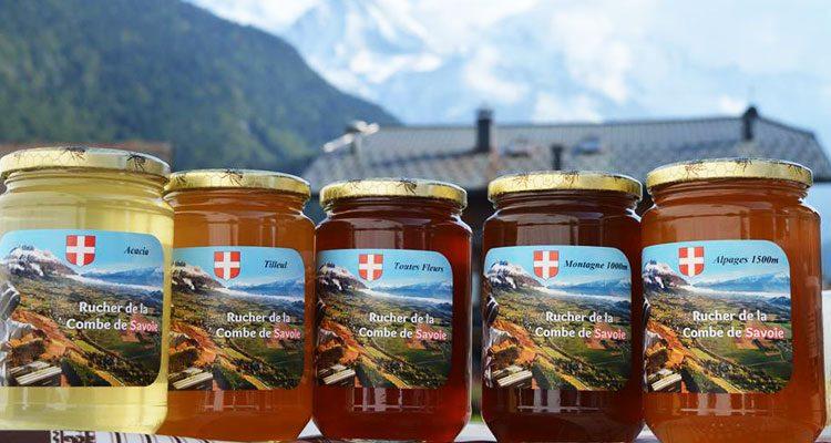 10 variétés de miels de Savoie proposés dans notre boutique, venez les goûter !