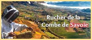 Le Rucher de la Combe de Savoie - Miels et produits dérivés, gelée royale, pollen frais... des produits locaux et artisanaux en Savoie